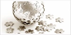 semi-complete round, globe puzzle